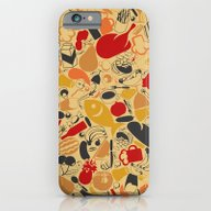 Food A Background iPhone 6 Slim Case