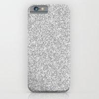 grayscale treemap mosaic iPhone 6 Slim Case