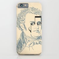 iPhone & iPod Case featuring Franz Schubert by bananabread