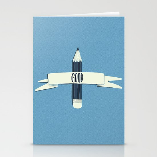 Lucky pencil Stationery Card