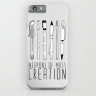 Weapons Of Mass Creation iPhone 6 Slim Case