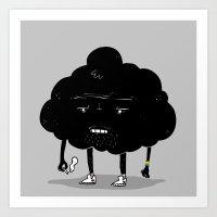 Mr. Optimistic Art Print
