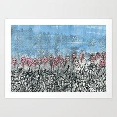 This is war Art Print