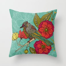 Contented Constance Throw Pillow