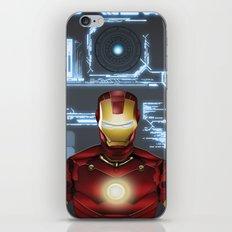 Iron-Man iPhone & iPod Skin