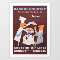 Basque Country Culinary … Art Print