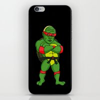 Teenage Putin Ninja Turtle iPhone & iPod Skin