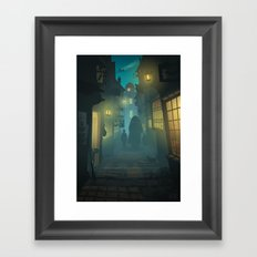Diagon Alley Framed Art Print