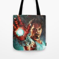 Tote Bag featuring Light 'Em Up by Alice X. Zhang