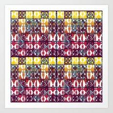 Pattern_2016_01  Art Print