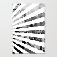 City Rays Canvas Print