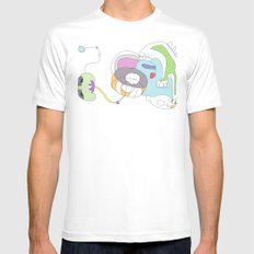 Funland 2 Mens Fitted Tee SMALL White