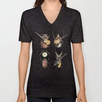 Meet The Beetles Unisex V-Neck