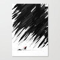 Geometric Storm Canvas Print