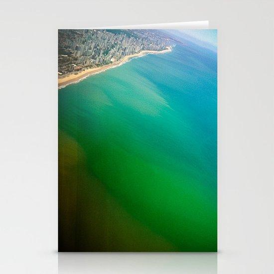 Salvador Beach III / Brazil Stationery Card