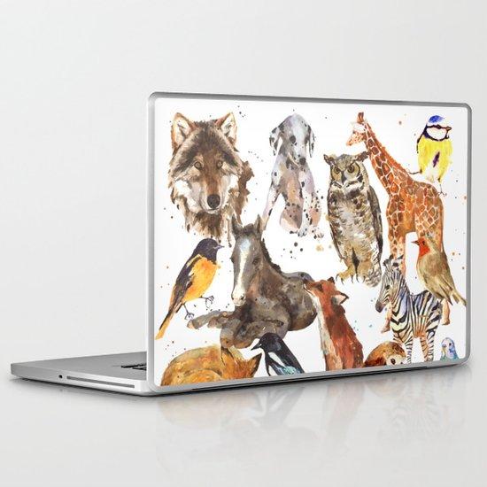 Animal Menagerie Laptop & iPad Skin