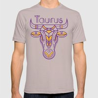 Deco Taurus Mens Fitted Tee Cinder SMALL
