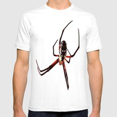 spider from mars White Mens Fitted Tee SMALL