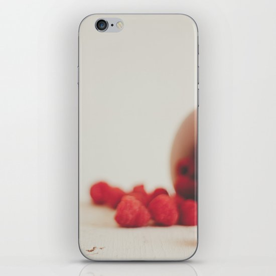 Red is the color of passion iPhone & iPod Skin