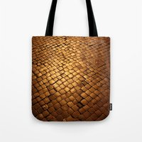 paving stone gold Tote Bag