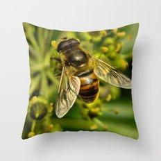 Bee? Throw Pillow
