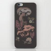 Mashrooms Pattern iPhone & iPod Skin