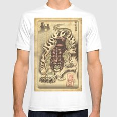Battlecat Mens Fitted Tee White SMALL