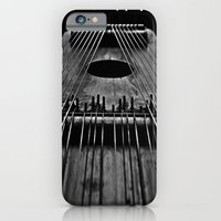 Ukelin Strings B&W iPhone 6 Slim Case