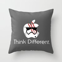 Think Different. Throw Pillow