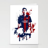 Lionel Messi Stationery Cards