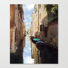 Venice Italy Canal Canvas Print