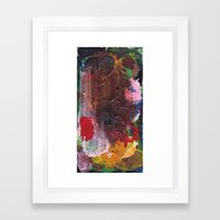 One Board #7 Framed Art Print