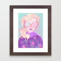 Luna Lovegood Framed Art Print