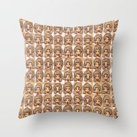 woew 2 Throw Pillow