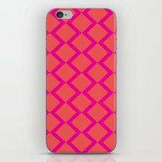 Orange Diamond iPhone & iPod Skin