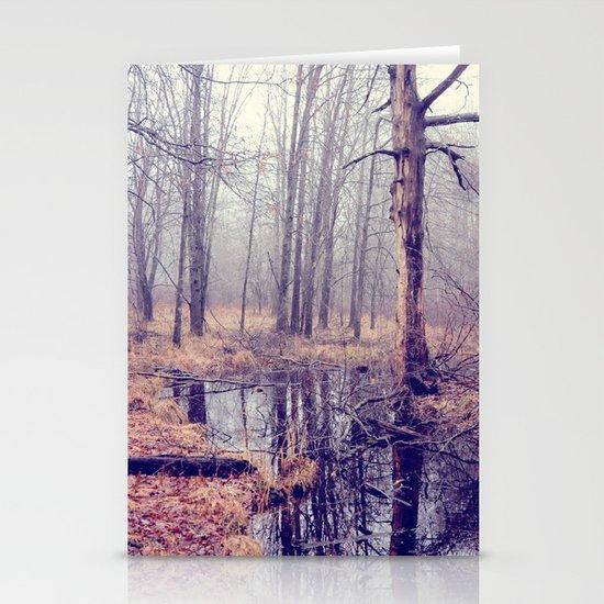 tread softly Stationery Card
