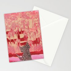 Origami Cat 3 Stationery Cards