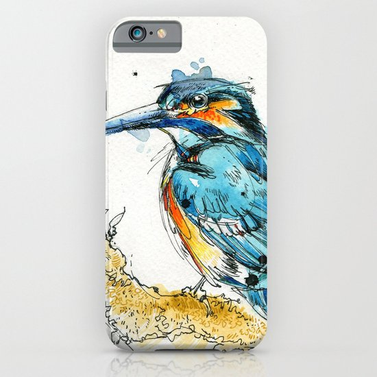 Regal Kingfisher iPhone & iPod Case