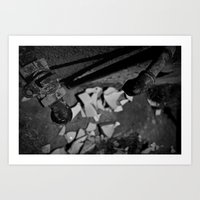 Pick Up The Pieces Art Print