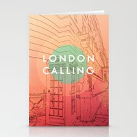 Songs And Cities: London… Stationery Cards