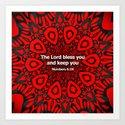 Bless you! Art Print