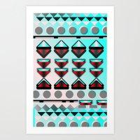 Blanketbunny Art Print