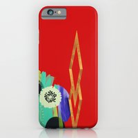 iPhone & iPod Case featuring Red Abstract by R. Phillips