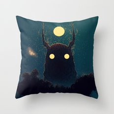 Lost Voices Throw Pillow