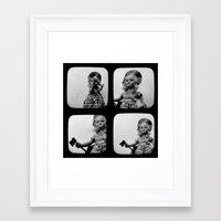 Little Lizzie Borden TtV I Framed Art Print