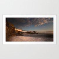 Cromer Pier At Dawn Art Print