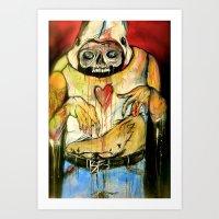 I'm Deep Inside Your Chi… Art Print