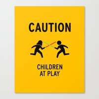Children at Play Canvas Print
