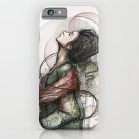 iPhone & iPod Case featuring Beauty Illustration by Olechka