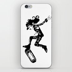 skatergirl iPhone & iPod Skin